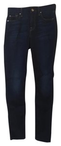7 For All Mankind Makind Ankle Skinny Jeans-Medium Wash