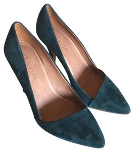 Madewell Green Pumps