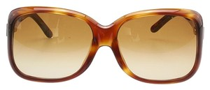Tom Ford Tom Ford Alissa TF119 Brown Plastic Square Sunglasses (92913)