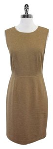 Trina Turk short dress Tan Sleeveless Sheath on Tradesy