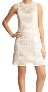 Nanette Lepore short dress Cream on Tradesy