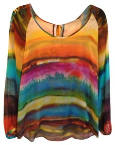 Other Top Vivid Multi Colored Water Color Design.