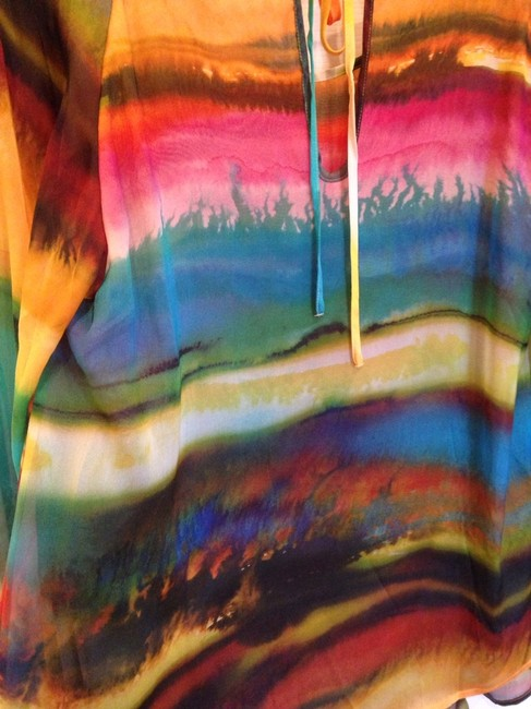 Other Top Vivid Multi Colored Water Color Design. Image 5