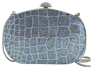 Judith Leiber Ourse Crystal blue Clutch