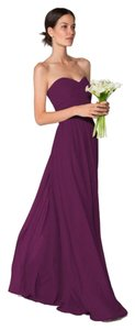 Ceremony By Joanna August Bridesmaid Eggplant Maxi Dress