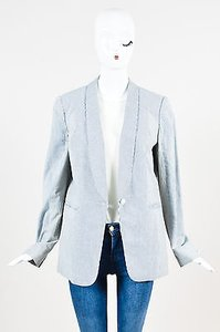 Rag & Bone White Navy Cotton Blue Jacket