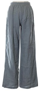 Johnny Was Wide Leg Linen Easy Summer Wide Leg Pants Blue Gray