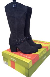 Bare Traps Grey Suede Boots
