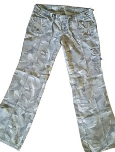 L.E.I. Misses Full Length Casual Cargo Pants Camo