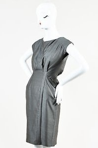Rag & Bone Wool Silk Drape Dress