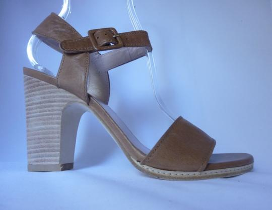 Stuart Weitzman Leather Adobe Vecchio Nappa Sandals