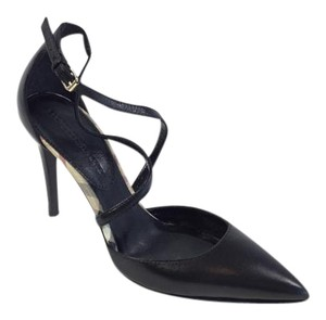 Burberry Haymarket Pointed Black/plaid Pumps