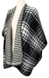 Plaid Poncho Wrap Wrap Cape