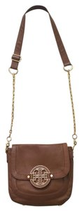 Tory Burch Leather Chain Gold Hardware Cross Body Bag