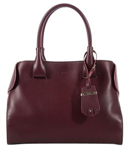 Tod's Structured Td.k0614.07 Maroon Tote