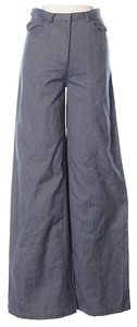 Rachel Comey High Waist Wide Legs Wide Leg Pants Blue