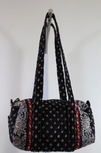Vera Bradley Womens Satchel in Black
