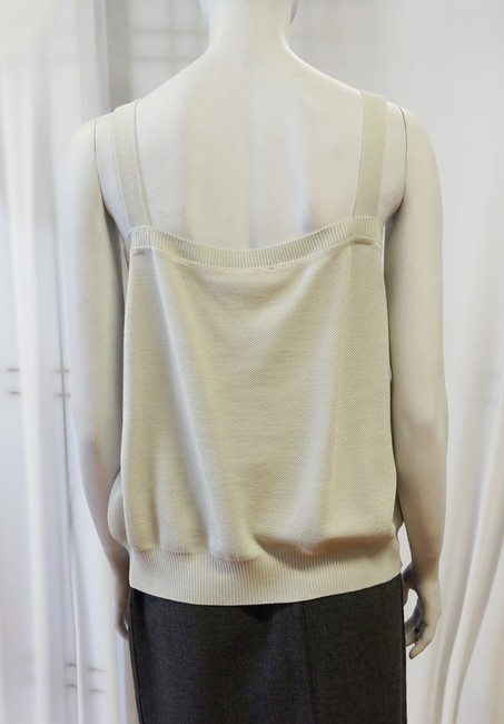 St. John New Blue Green Lightweight Relaxed Loose Shell Ribbed Boxy Xl Top Celadon