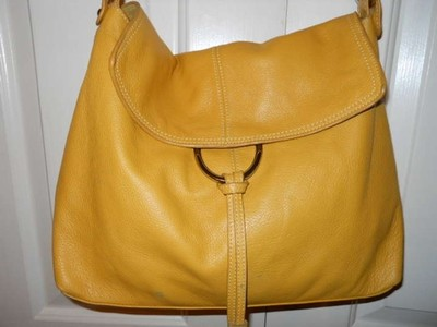 Alfani Leather Hobo Bag
