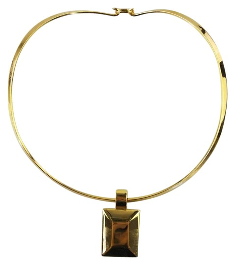 Premier Designs Square Pendant Choker Necklace