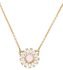 Kate Spade New kate spade new york park Estate Garden mini pendant necklace Gold