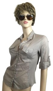 James Perse Button Down Shirt Khaki