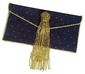 Jamie Leigh Purse Formal Gray and Gold Clutch