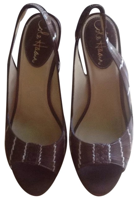 Cole Haan Brown Beige Orange Sandals Size US 6 Regular (M, B) Cole Haan Brown Beige Orange Sandals Size US 6 Regular (M, B) Image 1