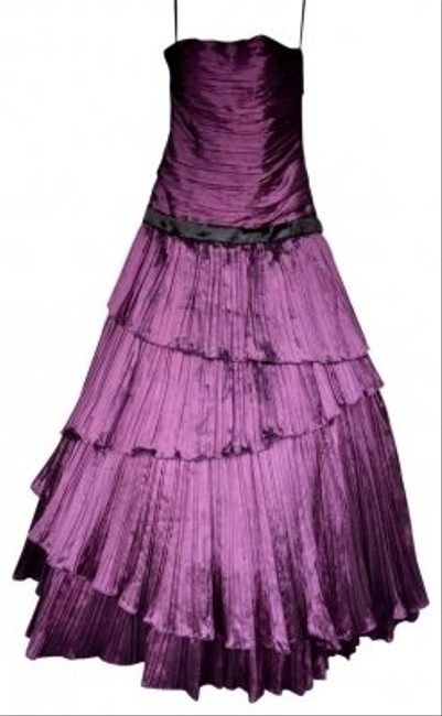 Preload https://img-static.tradesy.com/item/18056/deep-plum-prom-strappless-long-formal-dress-size-4-s-0-0-650-650.jpg