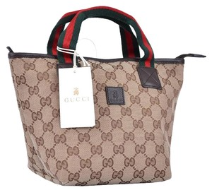 Gucci Children's Tote in Beige
