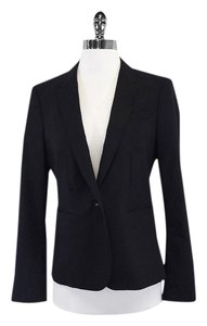 Burberry Black Lightweight Wool Blazer