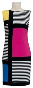 Joseph Ribkoff Sleeveless Geometric Dress