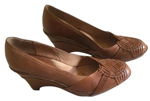 Clarks Brown Wedges