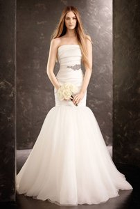 Vera Wang Mikado White Wedding Dress