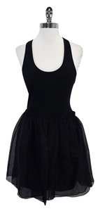 Betsey Johnson short dress Black Cotton Tank on Tradesy