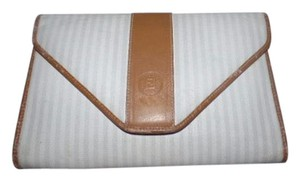 Fendi Popular Style Design Two-way Style Clutch/Cb/Shoulder Ivory/Camel/Taupe Shoulder Bag