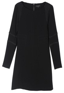 Rag & Bone Longsleeve Textured Mini Dress