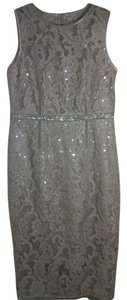 Vince Camuto Sequin Lace Vintage Dress