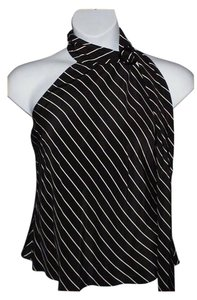 Ralph Lauren Top Black White