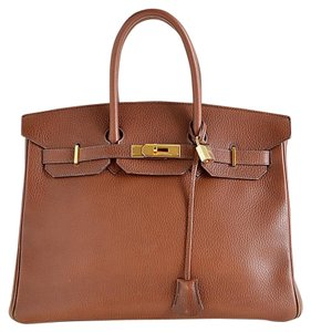 Hermès Luxory Satchel in brown