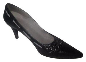 Salvatore Ferragamo Marilyn Monroe Style black with grey Pumps