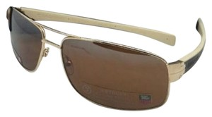 TAG Heuer TAG HEUER Sunglasses TH 0255 705 Gold & Beige-Brown w/Outdoor Brown