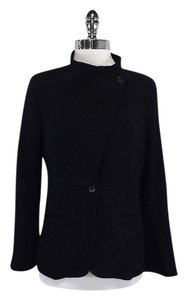 Elizabeth and James Black Wool Blend Jacket