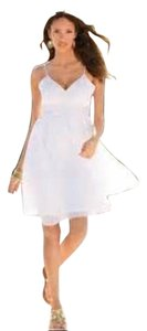 Boston Proper short dress White on Tradesy