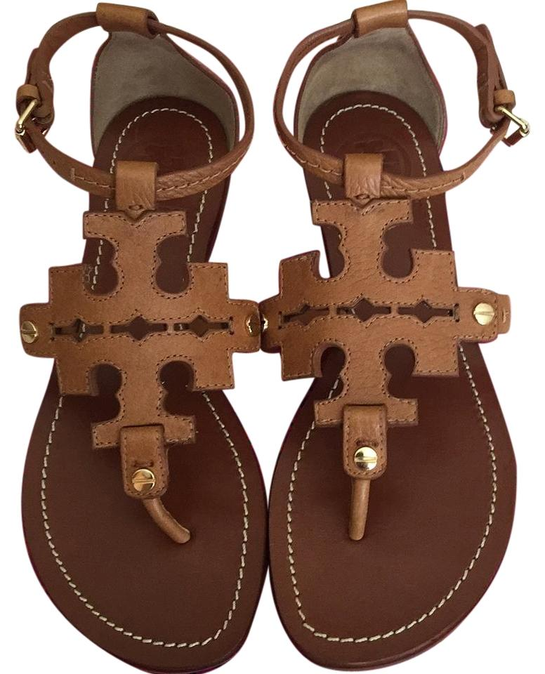 d4c7f0a47e9f3 Tory Burch Royal Tan Phoebe Thong Sandals Size US 5.5 Regular (M