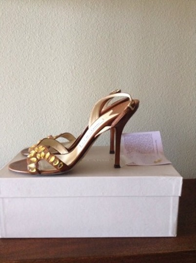 Jimmy Choo Brown Leather Sandals Image 4