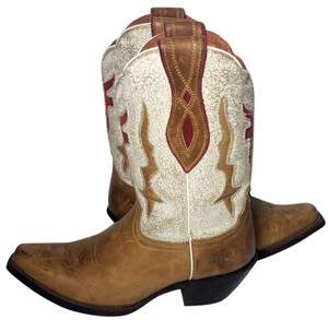 Frye 77390 Lilly Tan Brown Boots