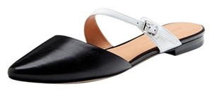 Sigerson Morrison Heidy Slides Mules black and white Flats