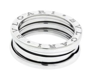 BVLGARI Bvlgari B.ZERO1 3 band ring in 18k white gold size 54 (USA 7)