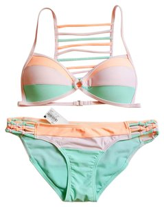 Ron Jon Surf Shop Colorblock Bikini